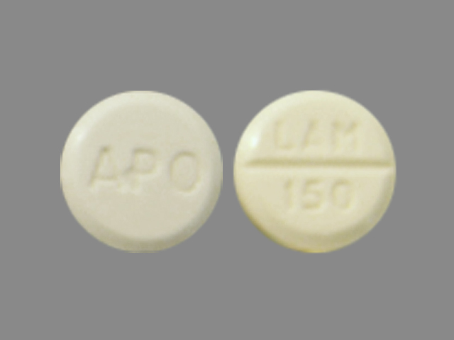 Lamotrigine 150 mg APO LAM 150