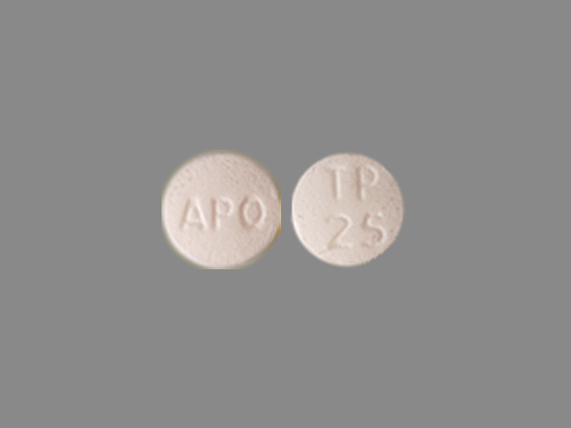 Topiramate 25 mg APO TP 25