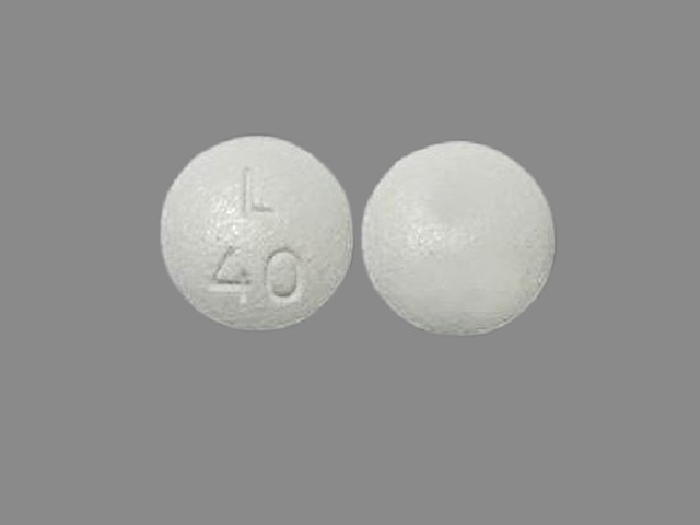 Pill Imprint L 40 (Latuda 40 mg)