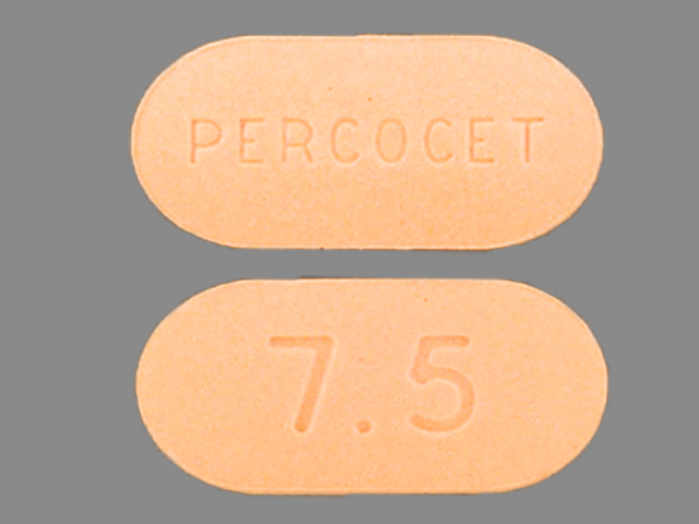 Percocet 500 mg / 7.5 mg