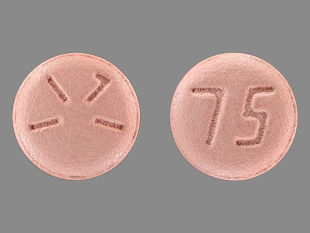 Pill Imprint 75 1171 (Plavix 75 mg)