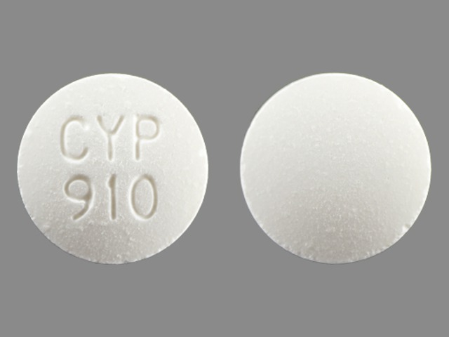 Pill Imprint CYP 910 (Eliphos 667 mg)