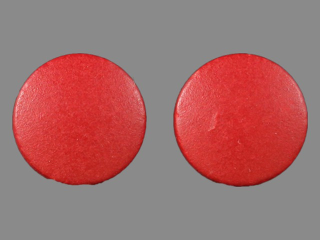 Pill Imprint none (Ferrous Sulfate 325 mg)