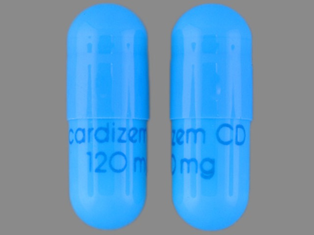Pill Imprint cardizem CD 120 mg (Cardizem CD 120 mg)