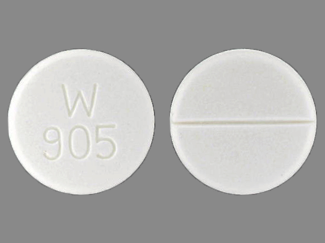 Captopril 100 mg W 905