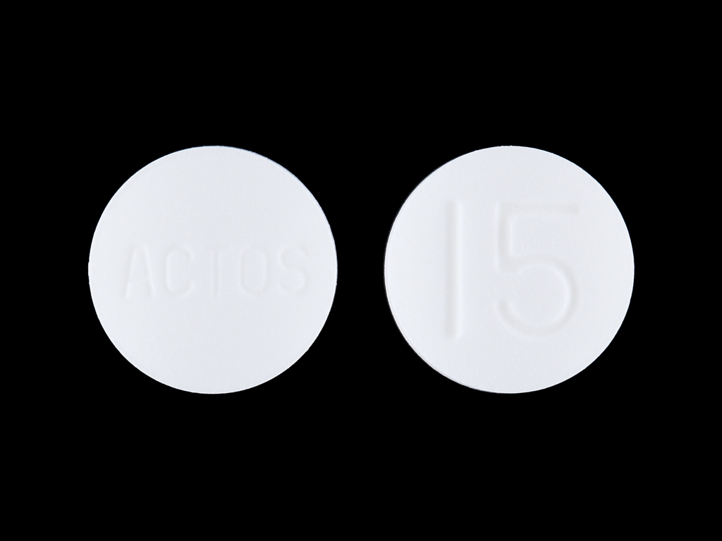 Actos 15 mg ACTOS 15