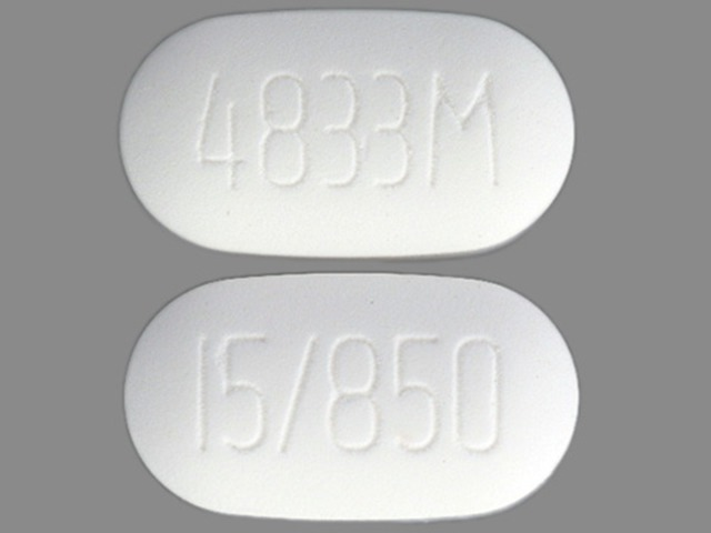 ActoPlus Met 850 mg / 15 mg (4833M 15/850)