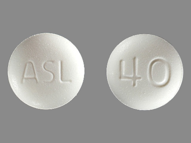 Pill Imprint ASL 40 (Edarbi 40 mg)