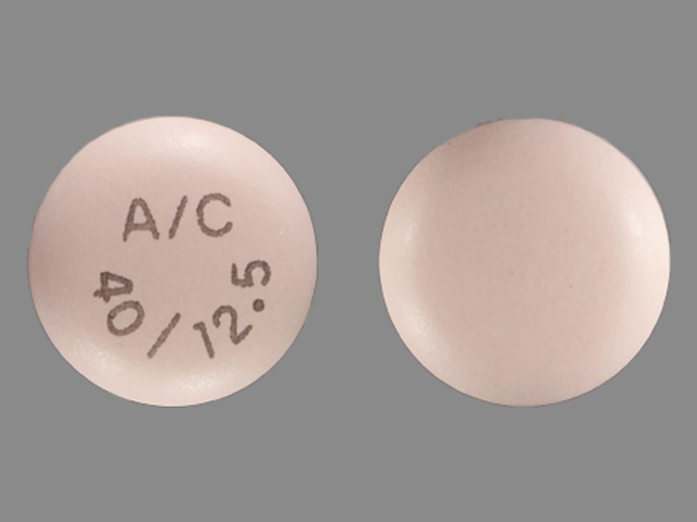 Pill Imprint A/C 40/12.5 (Edarbyclor 40 mg / 12.5 mg)