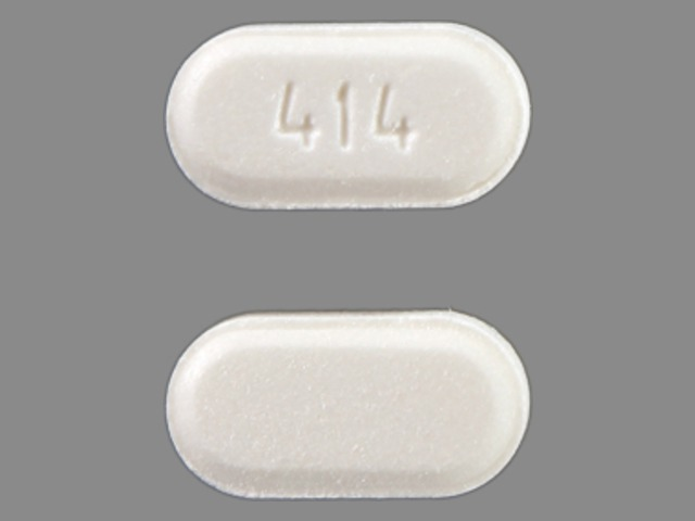 Pill Imprint 414 (Zetia 10 mg)