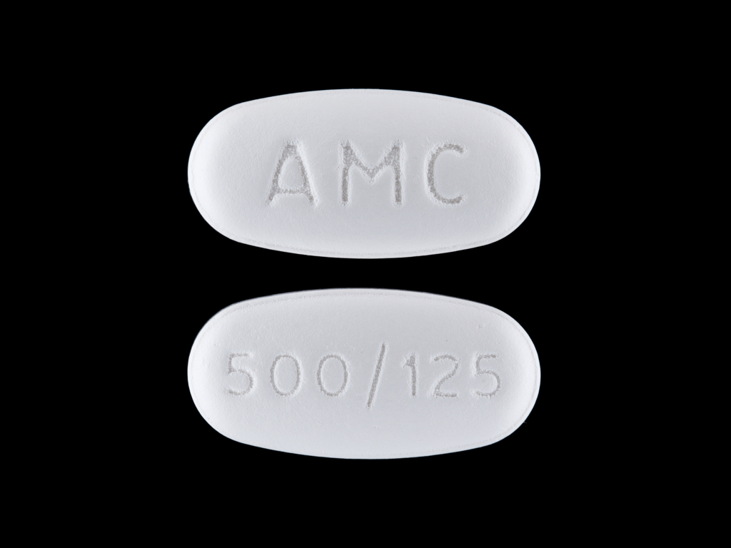 Amc 500 125 Pill Images White Elliptical Oval