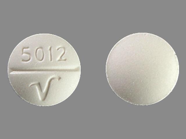 Phenobarbital 32.4 mg 5012 V