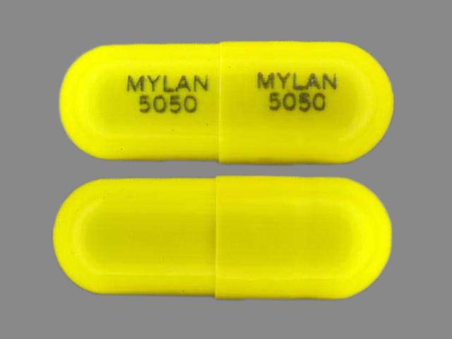 Temazepam 30 mg MYLAN 5050 MYLAN 5050