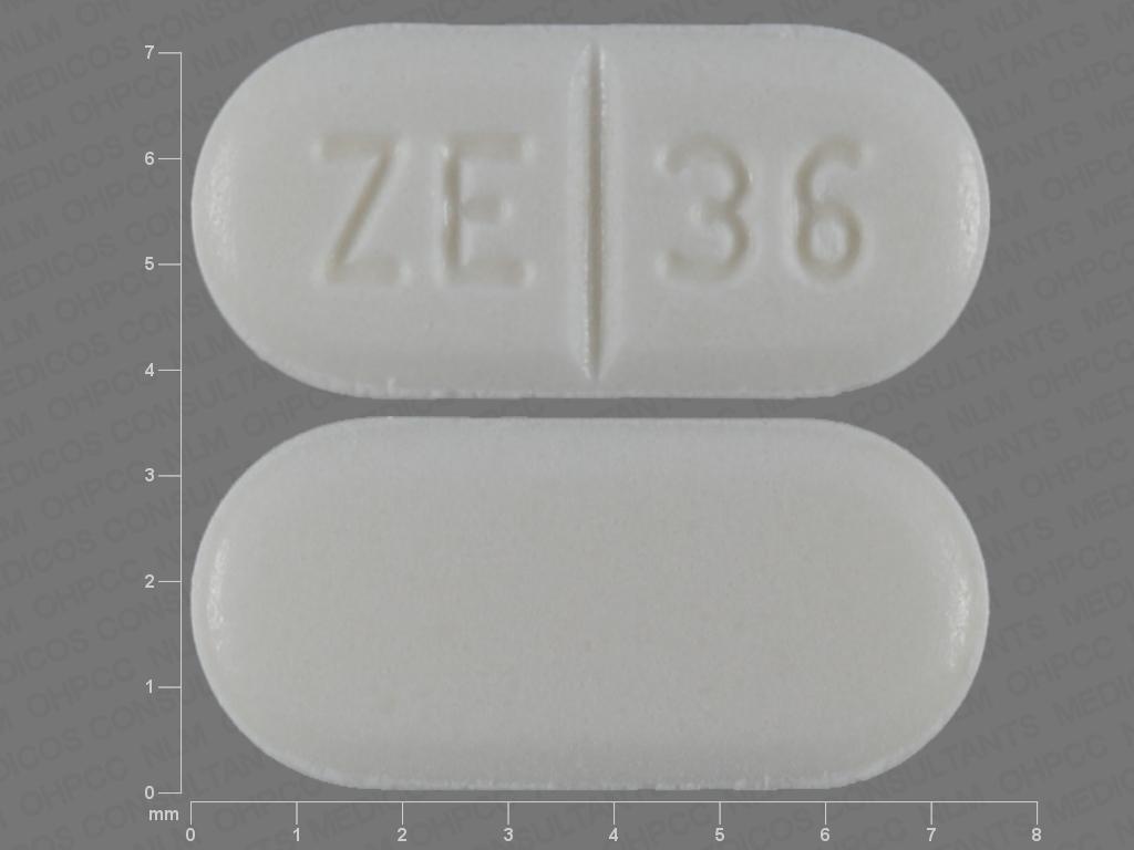 Buspirone hydrochloride 5 mg ZE 36