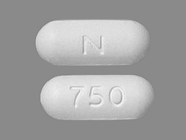Naprelan 750 naproxen sodium 825 mg (equiv. naproxen 750 mg) N 750