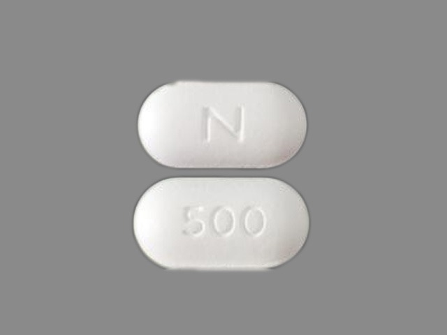 Naprelan 500 naproxen sodium 550 mg (equiv. naproxen 500 mg)