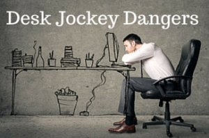 Desk Jockey Dangers: Health Risks Linked With Sitting Too Long
