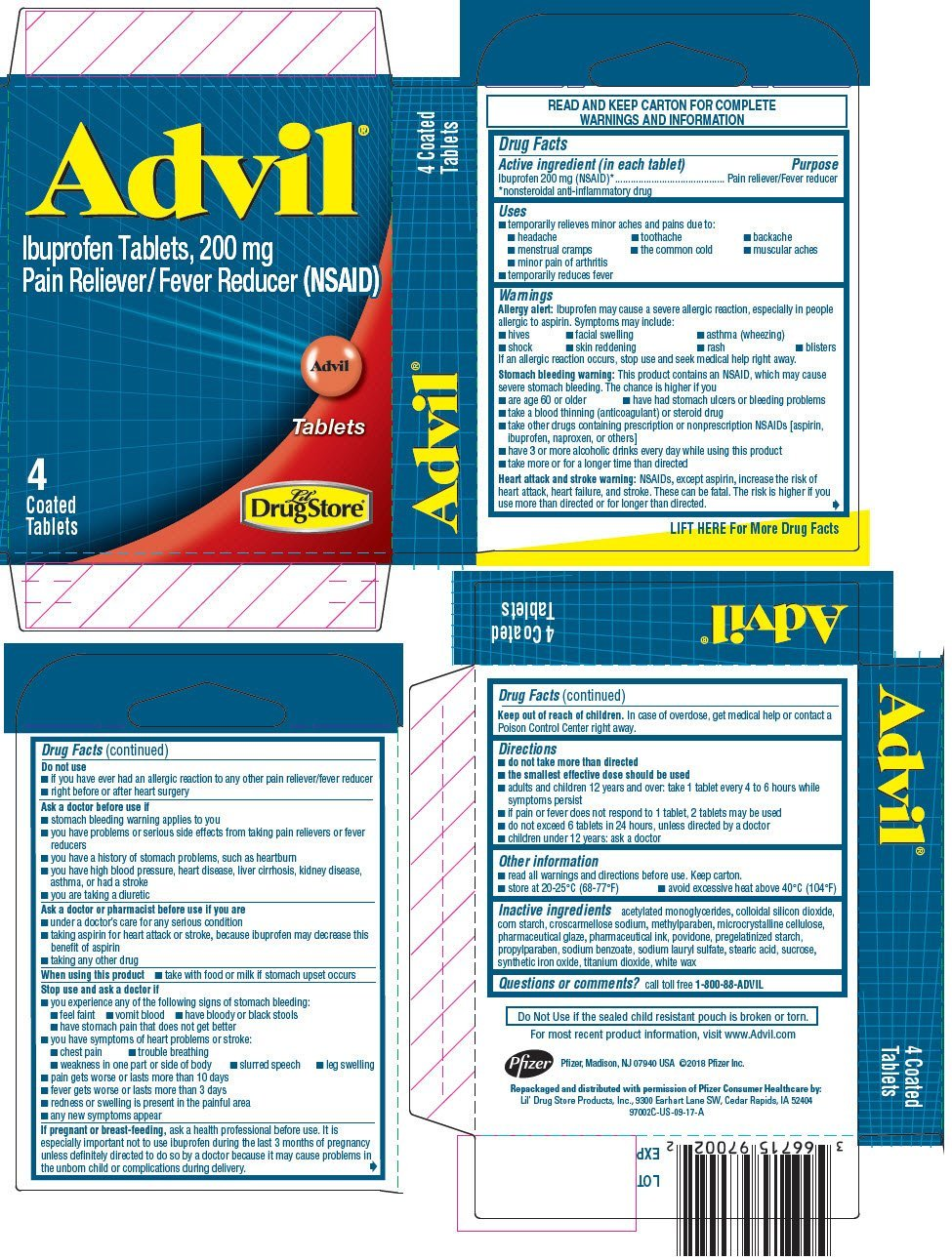 advil pm dosage instructions