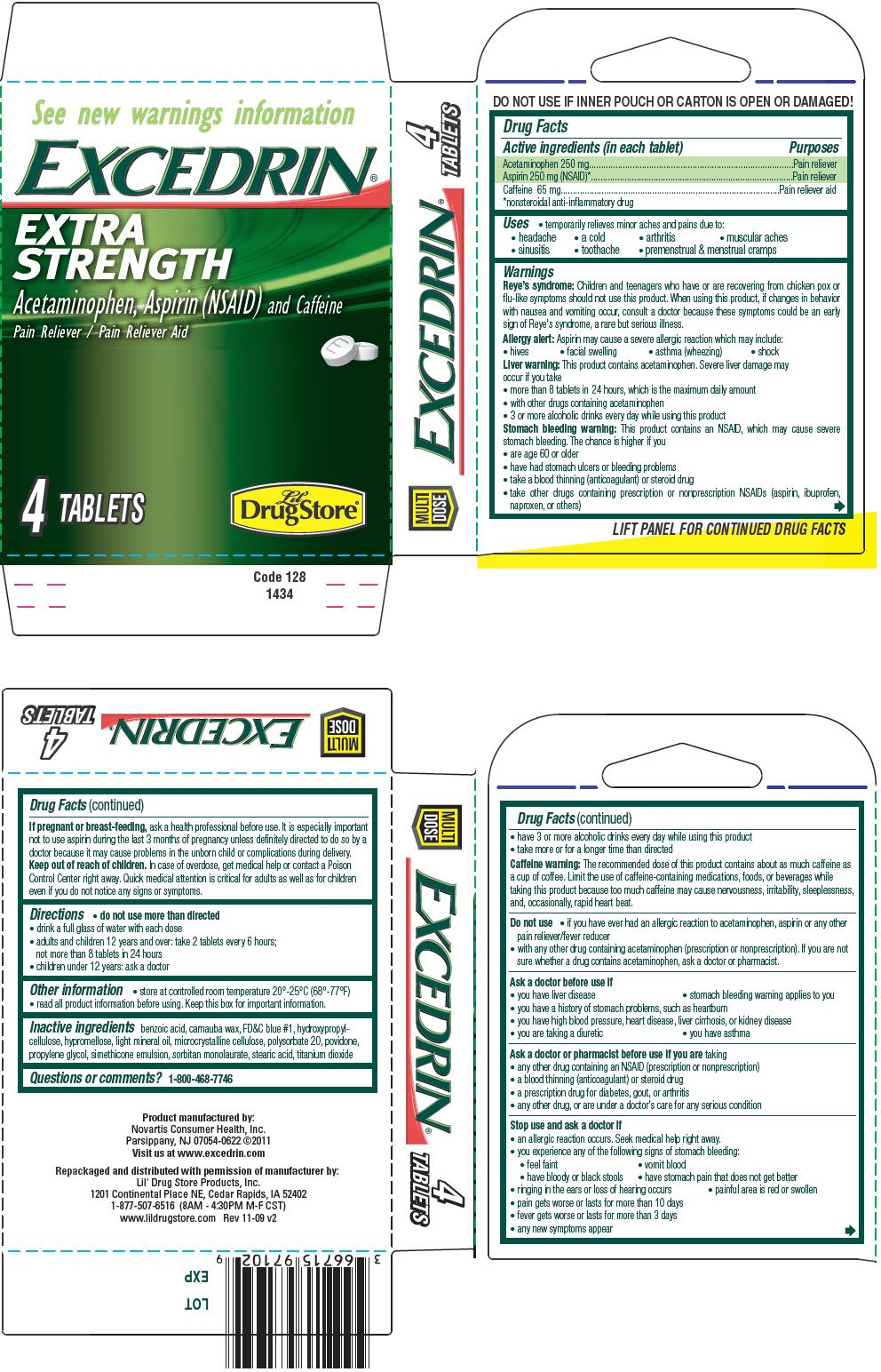 Extra Strength Ginkgo 120 Mg: Excedrin Extra Strength (tablet) Lil' Drug Store Products
