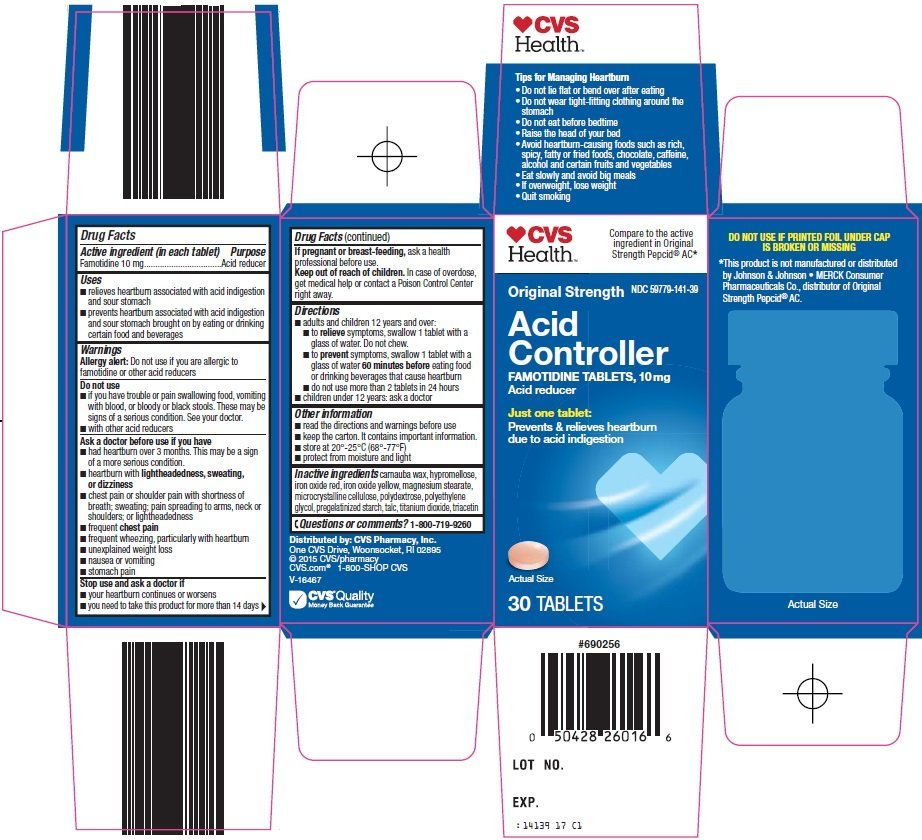 acid controller original strength  tablet  cvs pharmacy