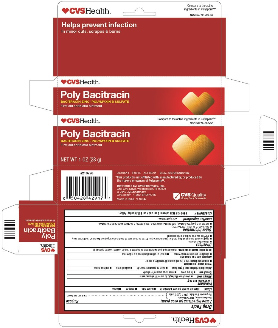 poly bacitracin  ointment  cvs pharmacy