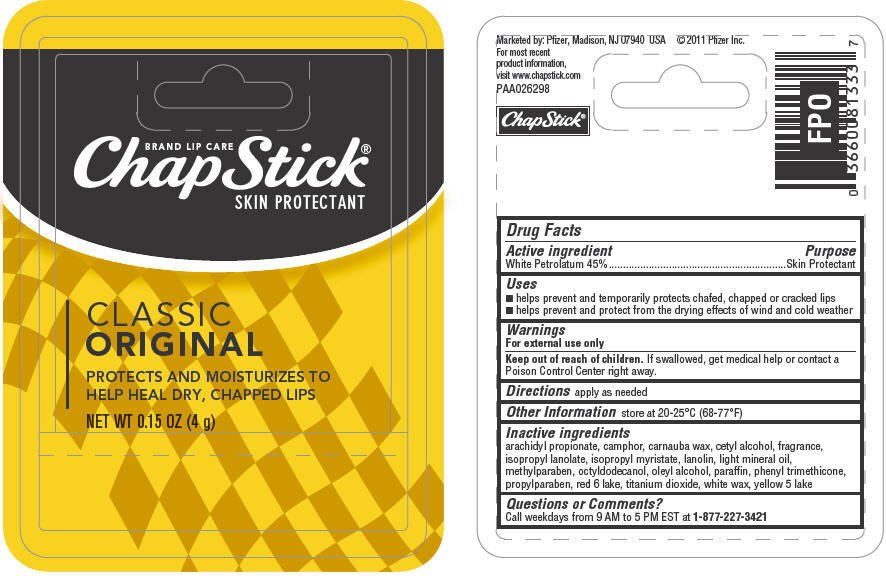 Image result for chapstick ingredient labels