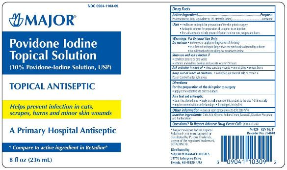 Povidone iodine (solution) Major Pharmaceuticals