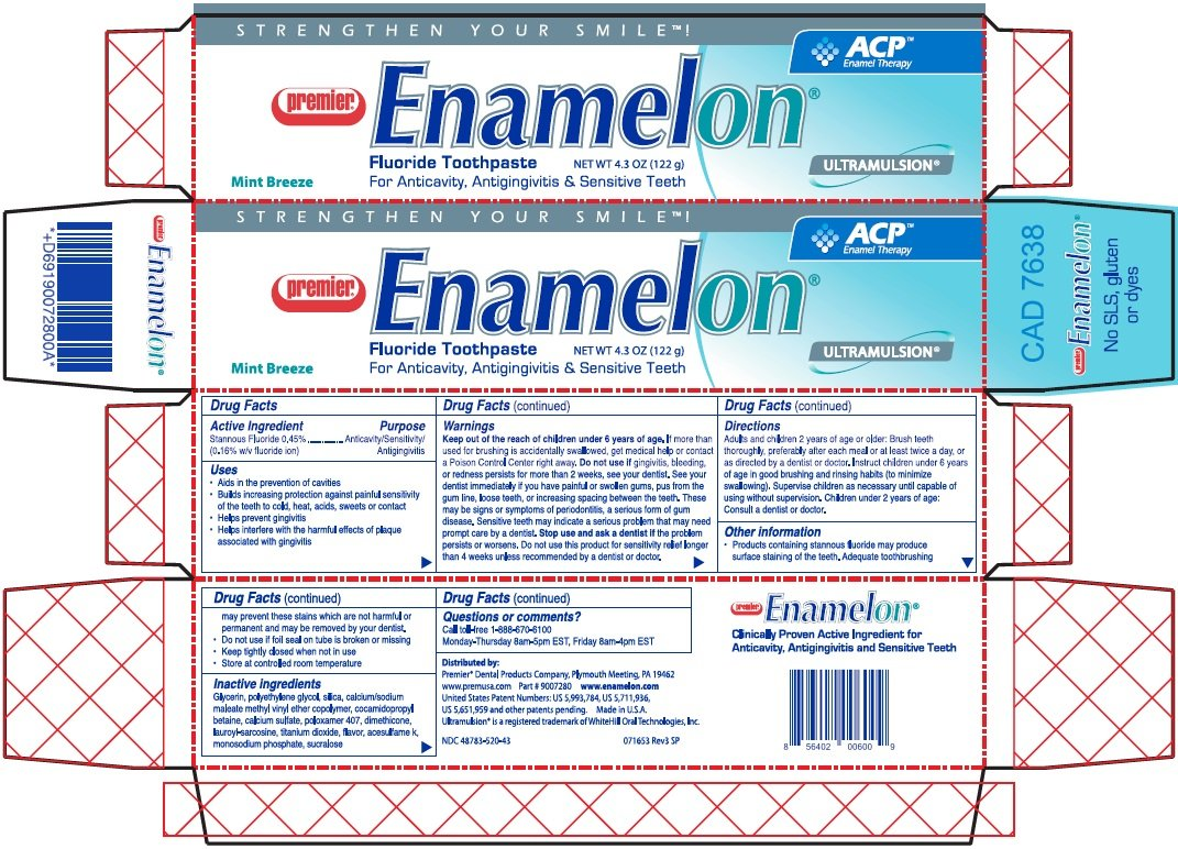 Enamelon (paste, dentifrice) Premier Dental Products Company