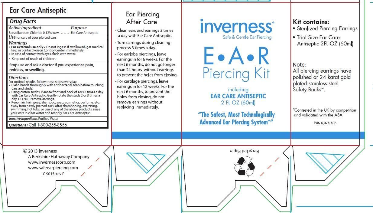 Inverness EAR CARE ANTISEPTIC (solution) Inverness Corp