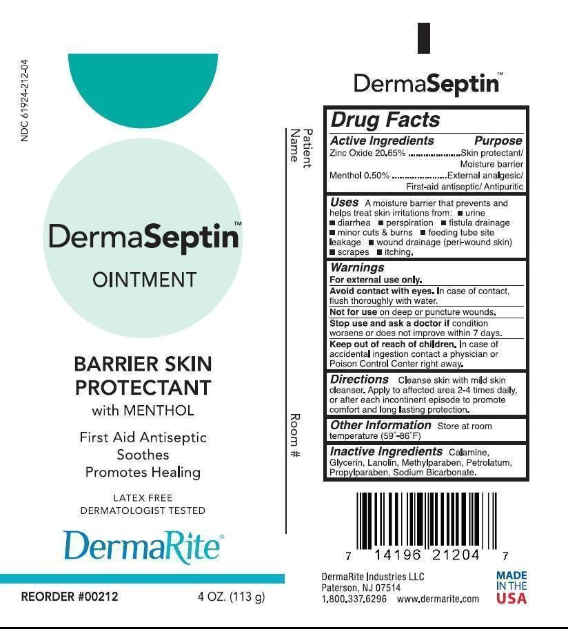 Dermaseptin Ointment Dermarite Industries Llc