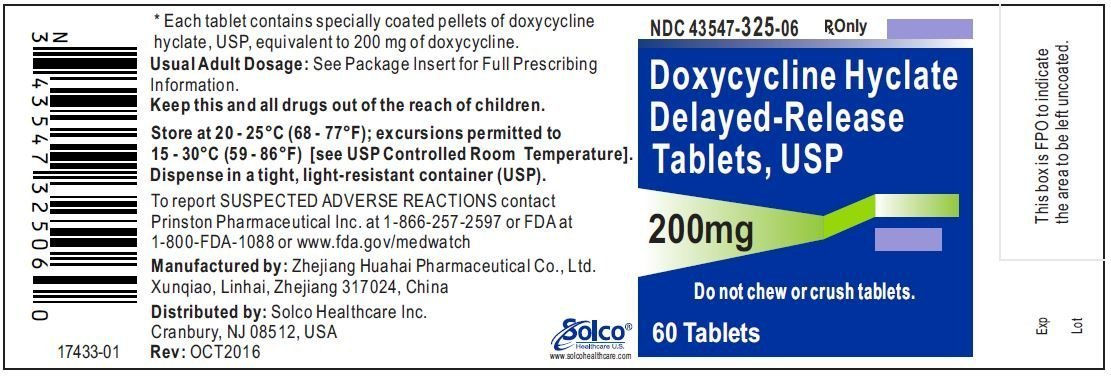 Doxycycline Hyclate Delayed Release - FDA prescribing