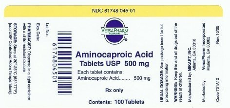 aminocaproic fda prescribing information side effects and uses. Black Bedroom Furniture Sets. Home Design Ideas