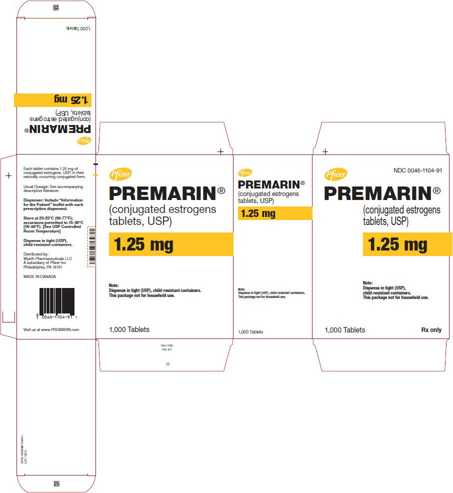 Premarin - FDA prescribing information, side effects and uses