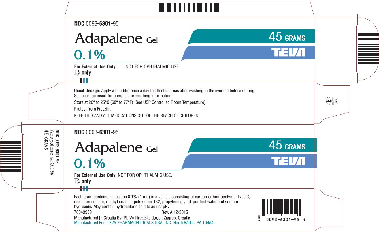 Adapalene - FDA prescribing information, side effects and uses