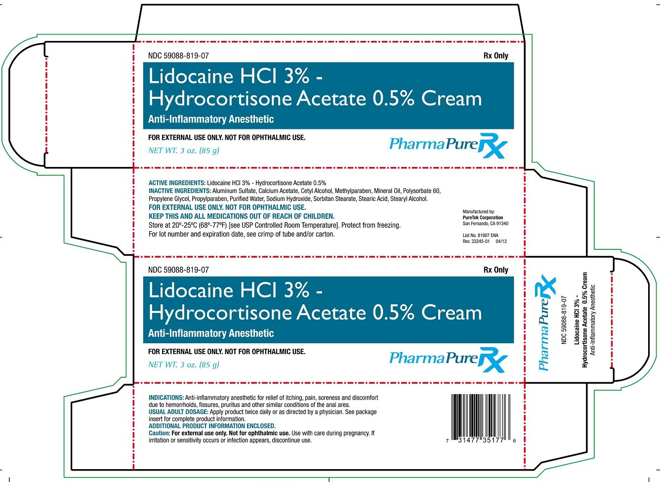 Hydrocortisone-Lidocaine Topical