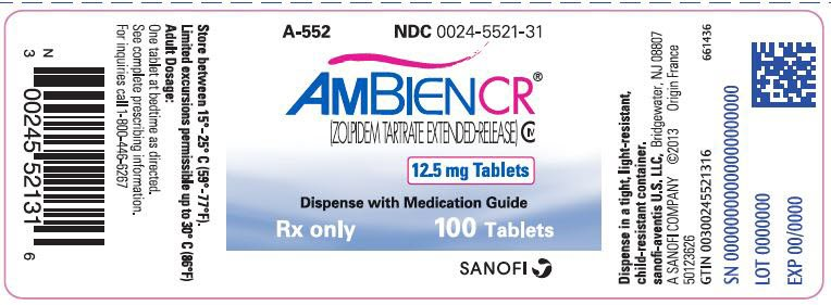zolpidem schedule drug