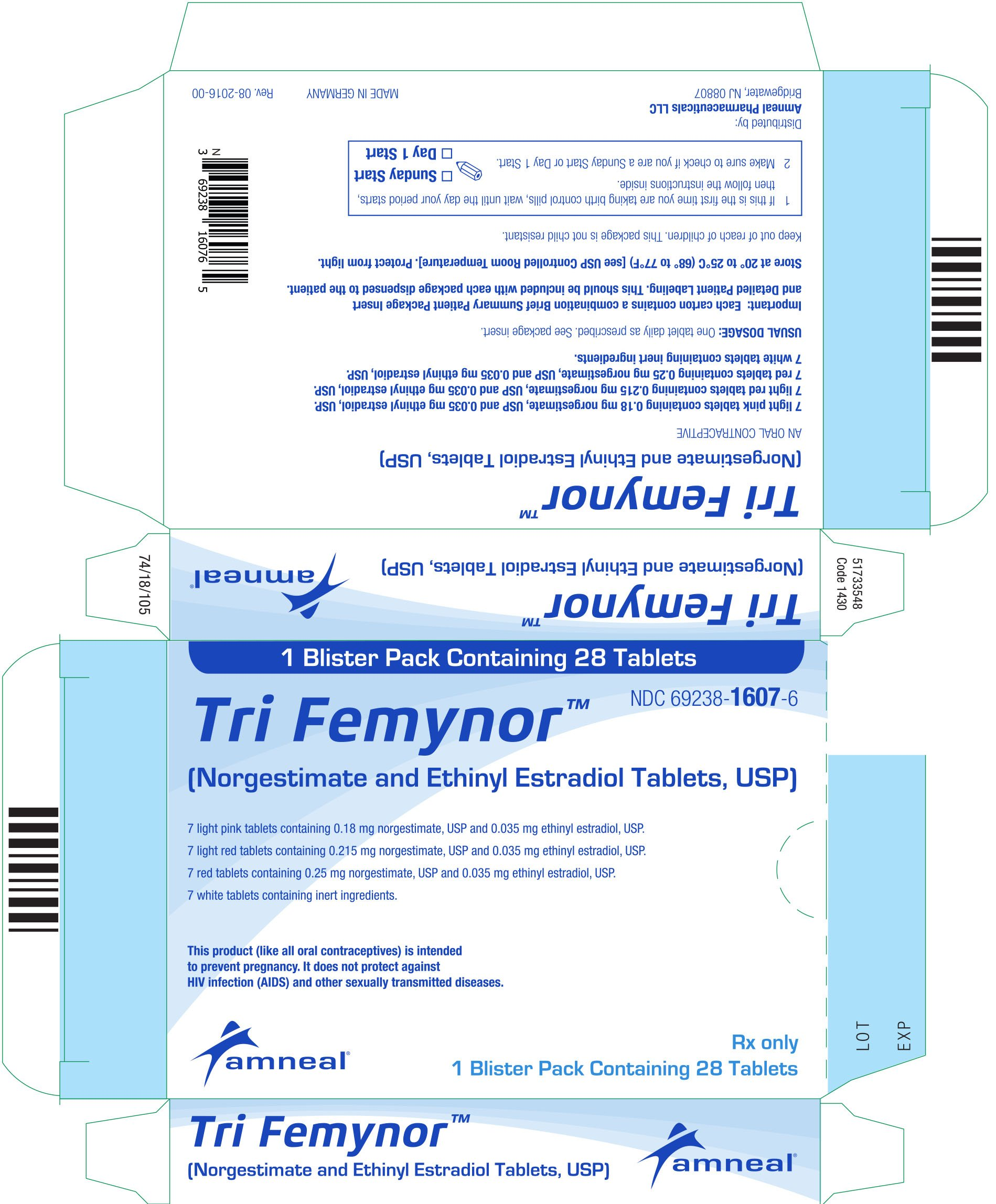 Tri Femynor Fda Prescribing Information Side Effects And Uses