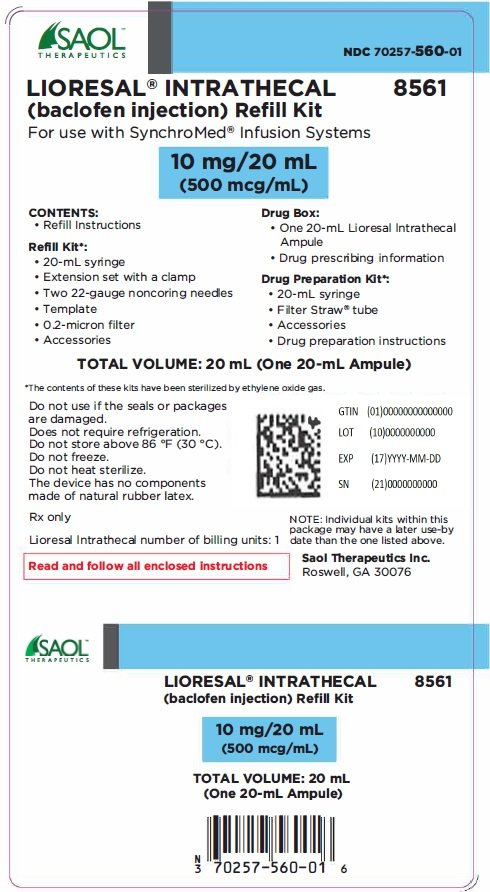 Lioresal Intrathecal Prescribing Information