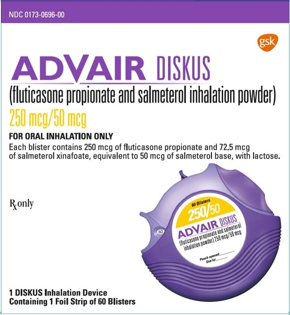Advair Diskus Fda Prescribing Information Side Effects And Uses