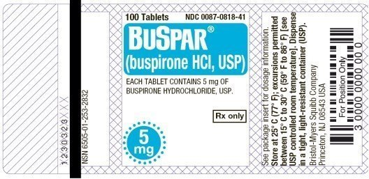 Buspirone 5mg Tablets Side Effects