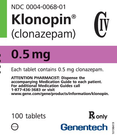 klonopin medication clonazepam neuropathy medications
