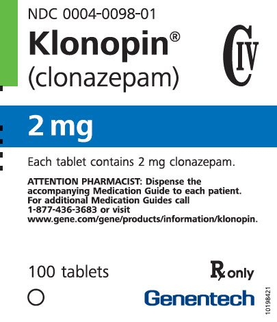 clonazepam 1 mg tablet description