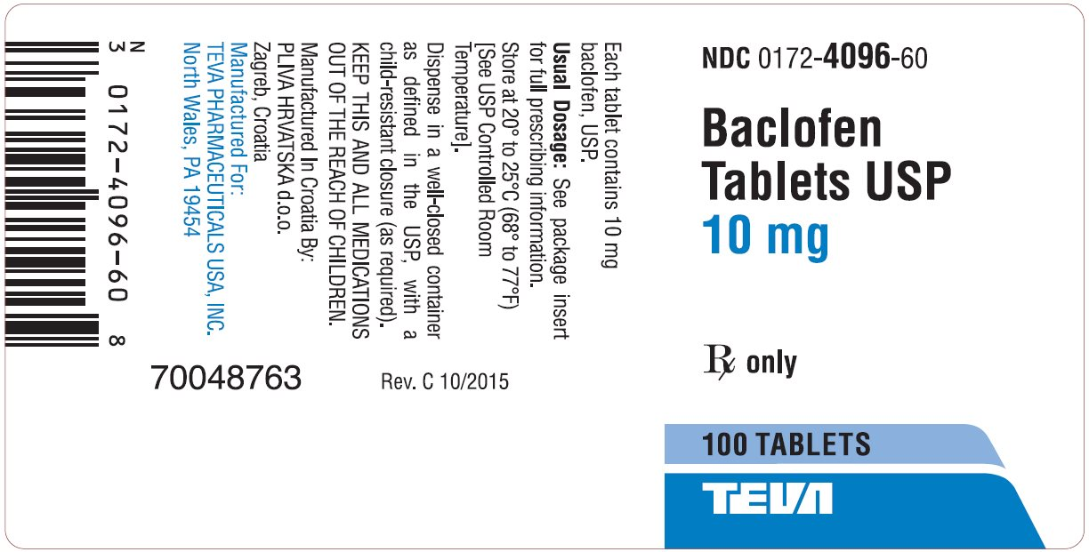 Baclofen  FDA prescribing information, side effects and uses ~ Baclofen Dosage