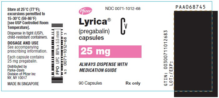 pregabalin m 75 usage definition