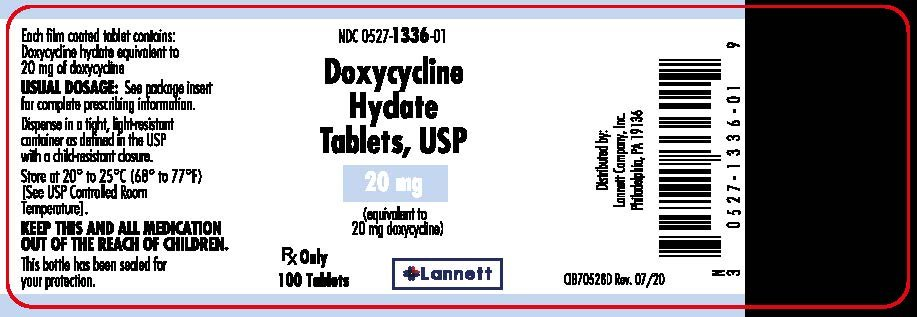 Doxycycline Hyclate Tablets - FDA prescribing information