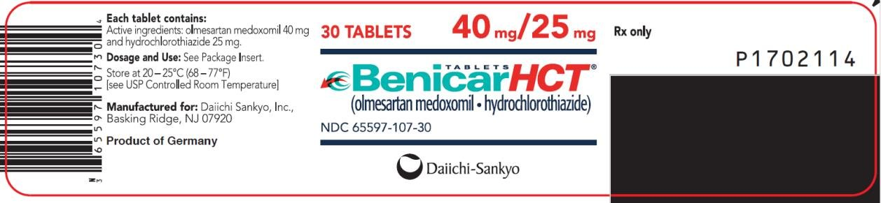 Benicar Hct Side Effects Mayo