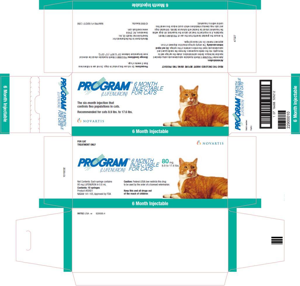 Program 6 Month Injectable - FDA prescribing information ...