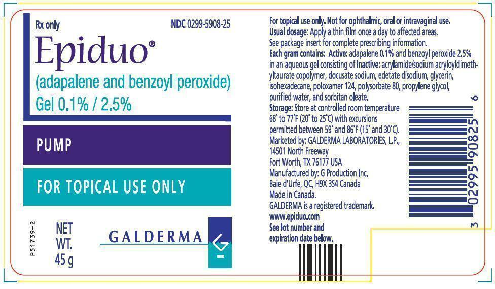 Epiduo - FDA prescribing information, side effects and uses