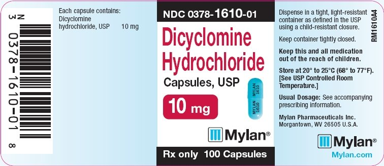 Dicyclomine Capsules - FDA prescribing information, side ...
