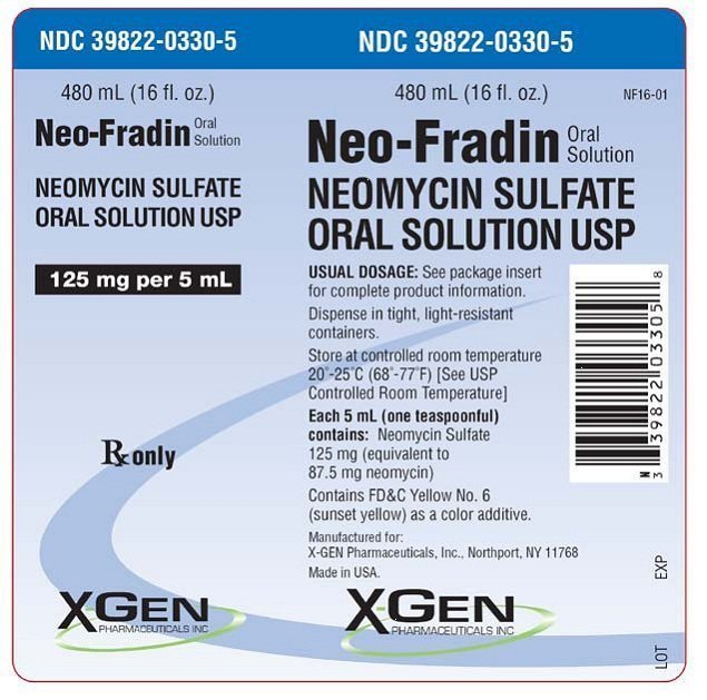 Neo-Fradin - FDA prescribing information, side effects and